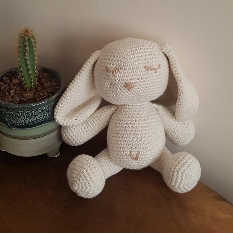 Tavşan Oyuncak Örgü Bebek